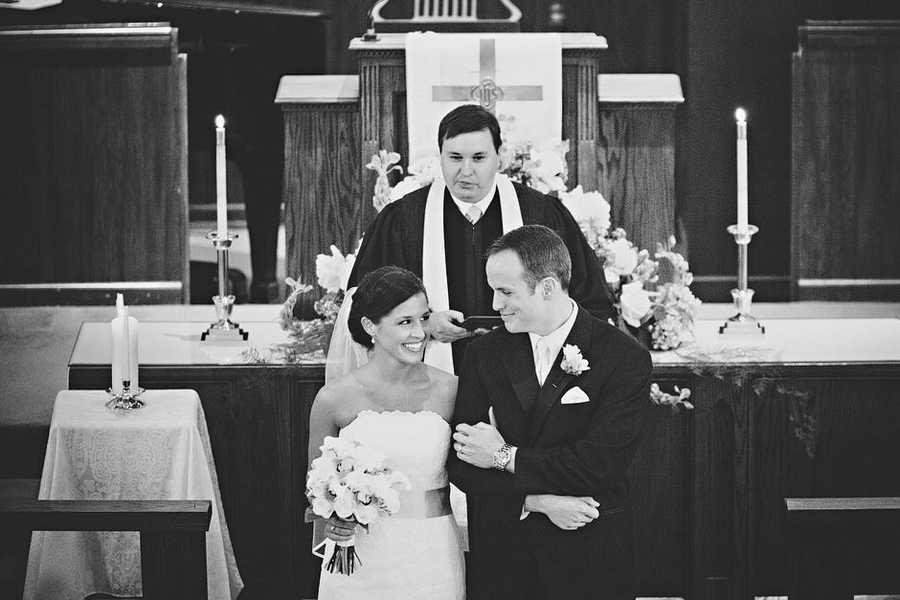 Chris married his wife Lauren in 2012.