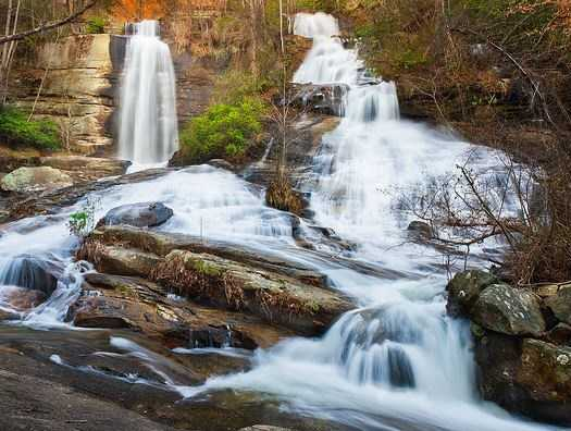 Hike to all 50 waterfalls that are within a short drive of Greenville. (Eric Johnson)