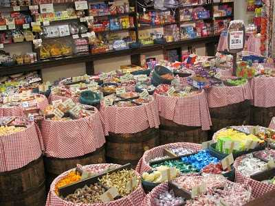 Buy a pound of penny candy at Mast General Store. (Stephanie Moore)