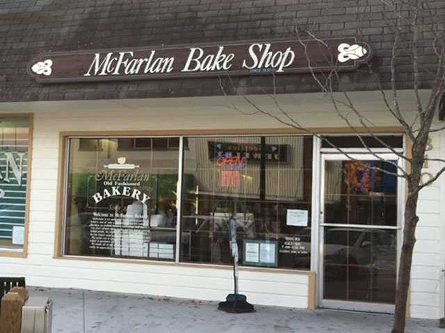 Get a pastry from McFarlan Bakery in Hendersonville.  (Jenni Knight)