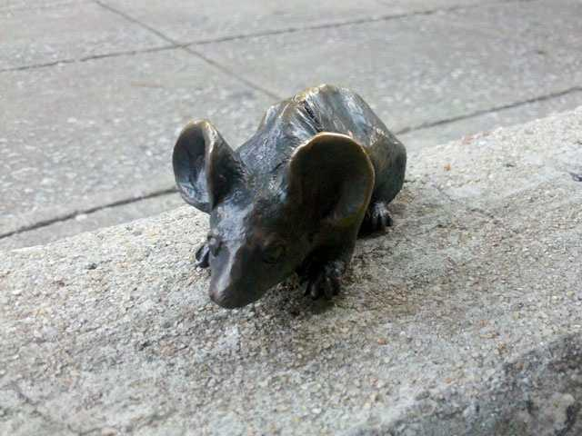 Find all the Mice on Main in Downtown Greenville. (Jenni Knight)