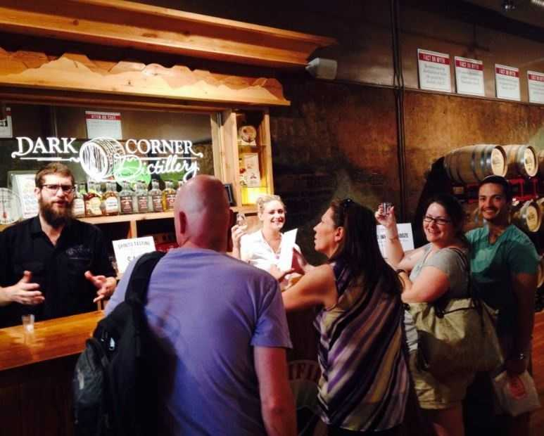 Sip moonshine at Dark Corner, SC's first legal moonshine.  (Eric Johnson)