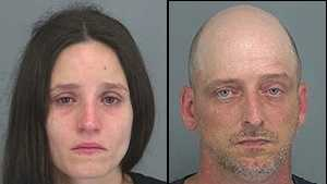 Deanna Boubaris, Jarrod Wiggins: Accused of child abuse