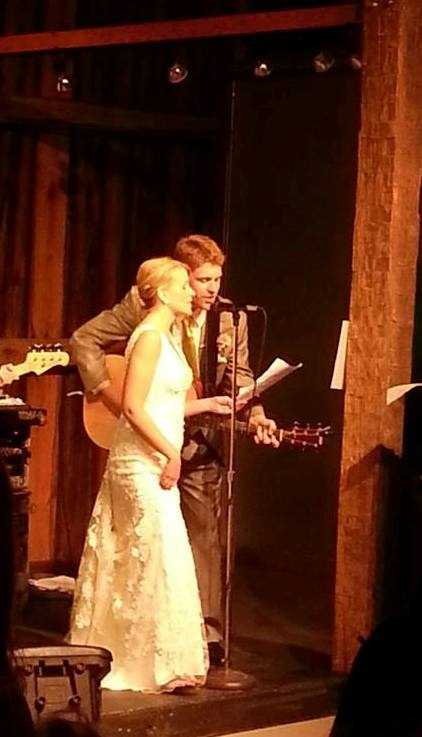 Liz and John share a love of music. They even sang together at their wedding.