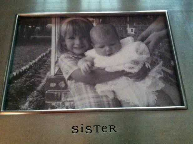 Pamela was born in Charleston, SC. She has always had a very close relationship with her big sister Angela. (Especially since Angela didn't drop her while taking her around to meet the neighbors)