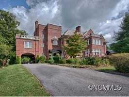 Take a sneak peek inside the Historic English manor in Asheville.