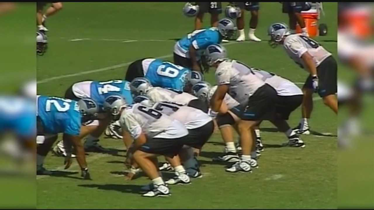 The journey of the Carolina Panthers training camp to Wofford College
