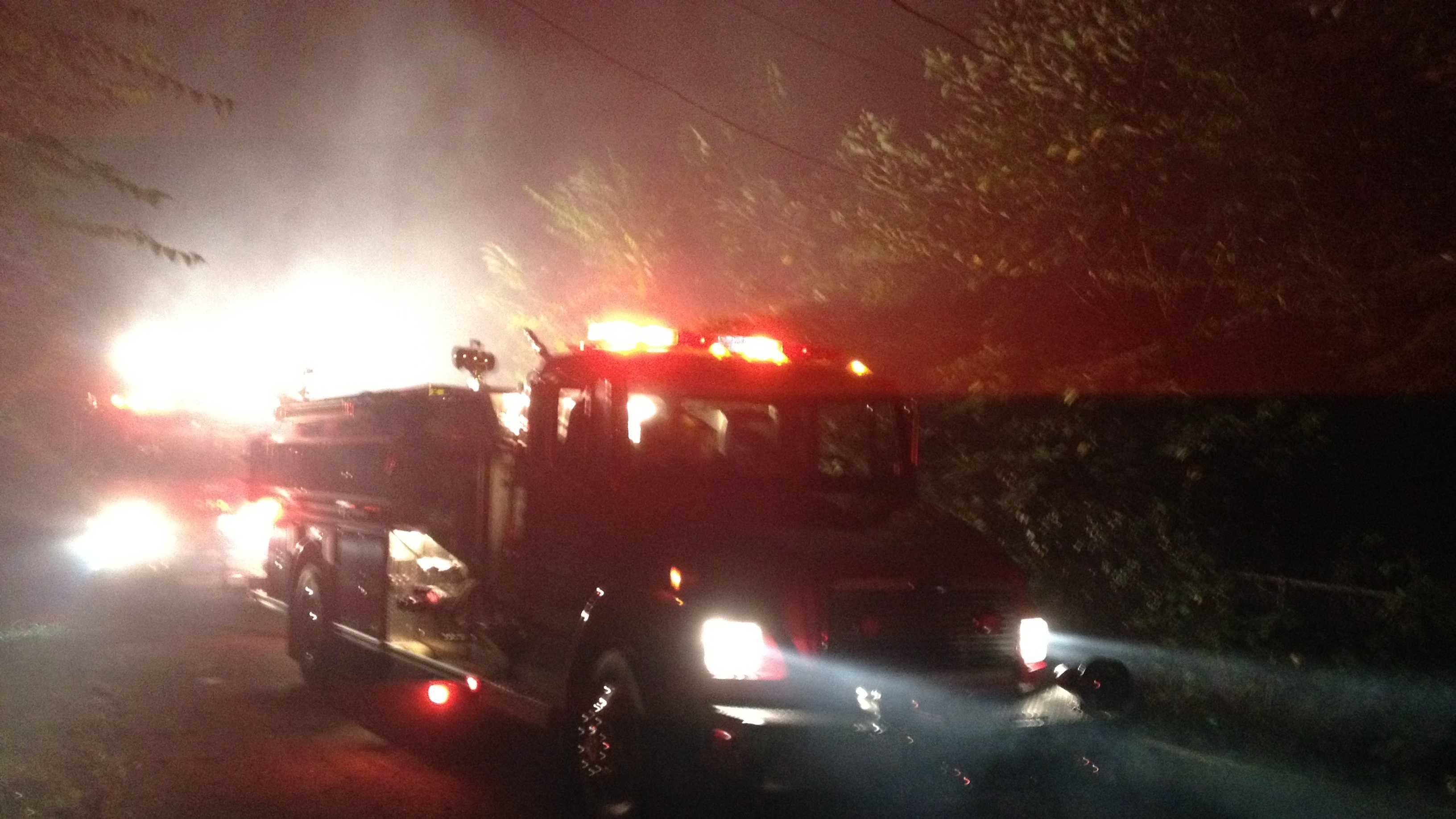 img - Crews investigating early-morning house fire