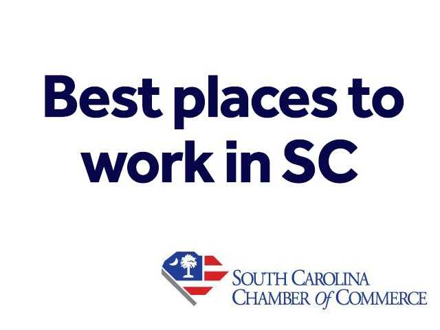 The South Carolina Chamber of Commerce recently released a list of Best Places to work in SC for small and medium employers (15-249 employees). The Best Companies Group evaluated each company'sworkplace policies, practices, philosophy, systems and demographics and then an employee survey was done.The combined score determined the top companies and the final ranking.