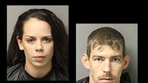 Christopher William Underwood, Brandy Nicole Underwood: charged with grand larceny