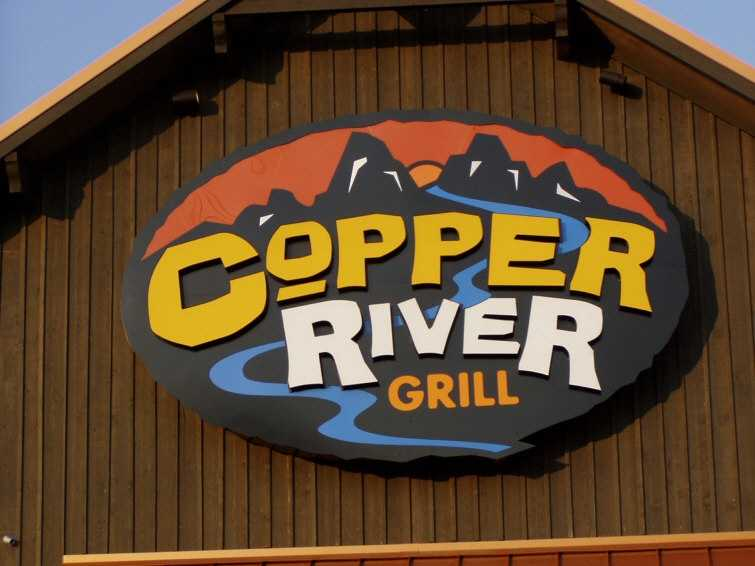 Jimmy Rogers, opened the first Copper River Grill in Seneca in October, 2005. Rogers, who was semi-retired after building the Fatz Café chain with his partner, was on a trip in Alaska when he saw salmon being harvested from the Copper River, and the name stuck and led him to develop the concept for the restaurant.