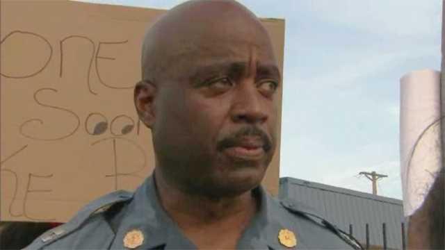 Highway Patrol arrives in Ferguson