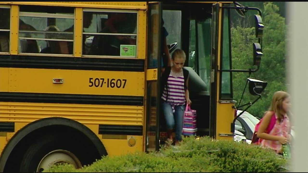 A new law allows schools to put cameras on buses.