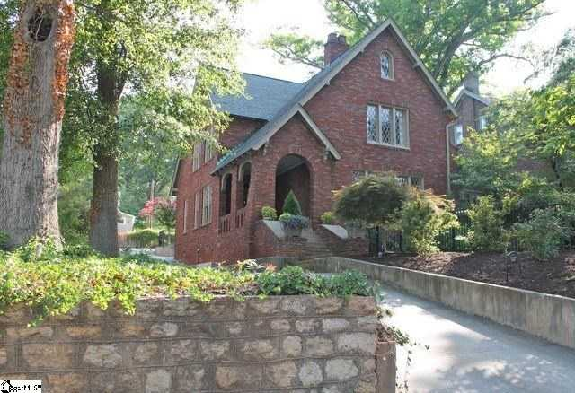 This all-brick home, built in 1916, is listed for sale on Realtor.com.