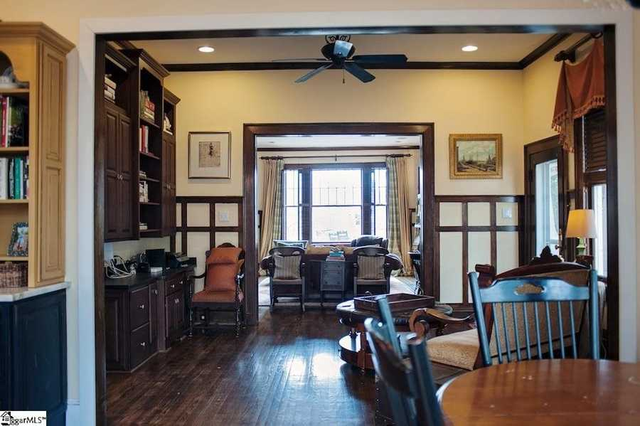 The home has more than 5,000 square feet of living space.