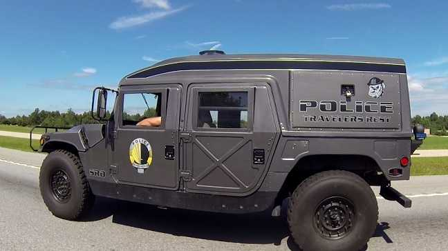 Traveler Rest Humvee