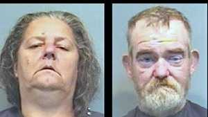 Tammy and Donnie Todd: Accused of assault and battery