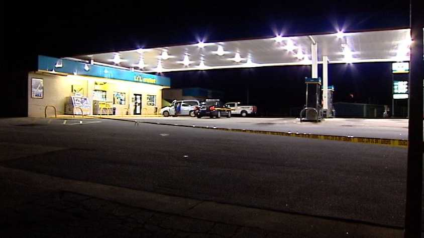 img - Shots fired during gas station robbery