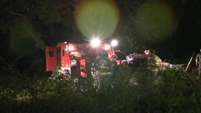 One person has died and another is injured after a wreck Thursday night, according to Anderson County Coroner Greg Shore.