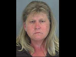 Debbie Robinson: Accused of public disorderly conduct