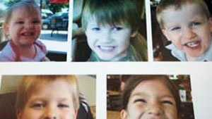Lexington County Sheriff's Department released these pictures of the 5 children who were killed.