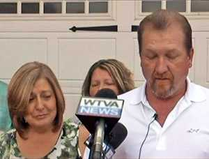 Jones' father held a news conference on Wednesday. Timothy Jones Sr. and his wife, Julie, stood in front of the garage at their home to address the media.