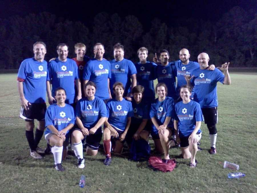 Steph is a founding member of the WYFF Co-Ed soccer team, which in recent years has won the county outdoor and indoor championships.