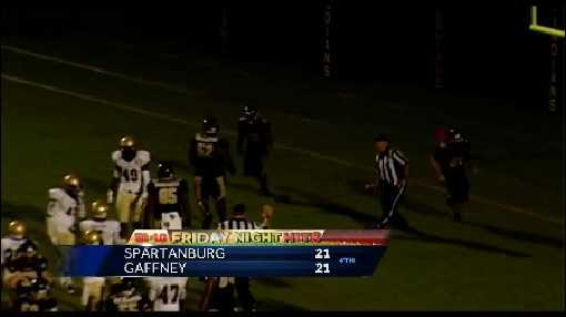 Gaffney 45, Spartanburg 21 Final