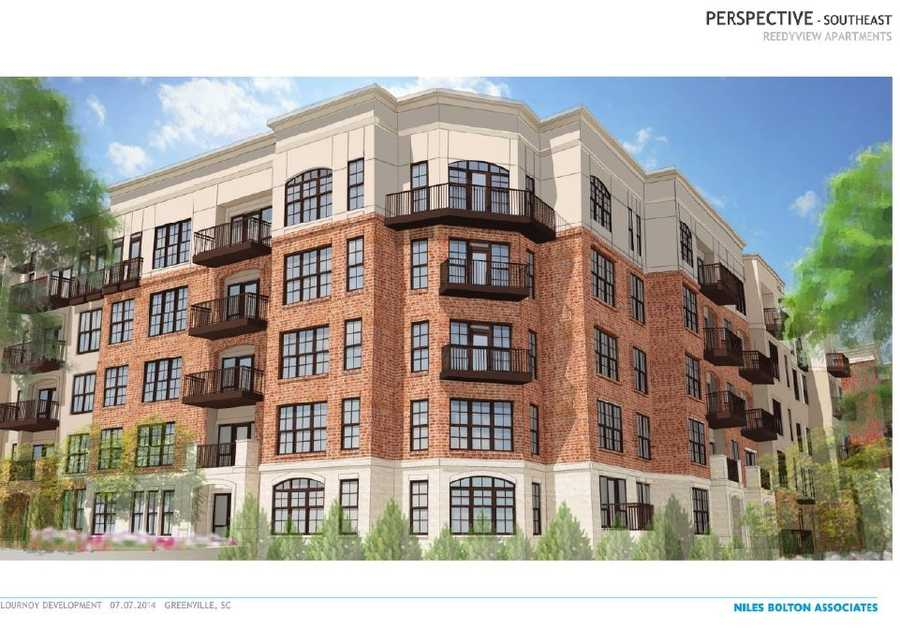 The development will provide 322 new apartments downtown.