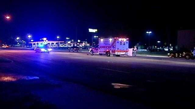 A man was hit and killed Tuesday night after he walked into traffic on a busy Upstate road, according to the South Carolina Highway Patrol.