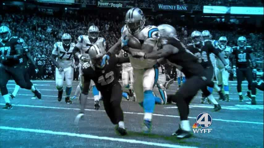 WYFF News 4 airs a pregame special before the Steelers vs Panthers game. The special airs at 6:30 p.m. Sunday.