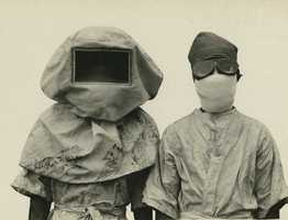1918-1919: The Spanish Flu spread through multiple countries, including the United States. It is estimated to have killed up to 100 million people. There were 25 million deaths in the first 25 weeks. More than 675,000 died in the US.