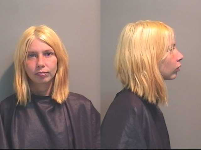 Heather Browning: also charged with exposing her 7-month -old child to meth