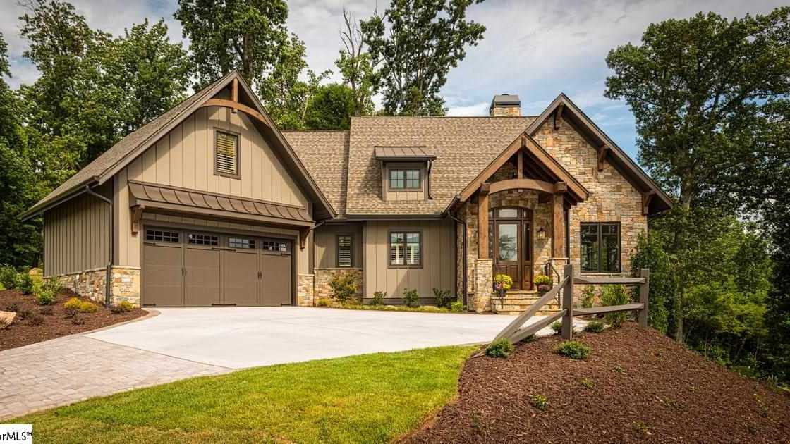 This four bedroom, four and a half bath home on Paris Mountain is the 2014 Southern Living Showcase Home.