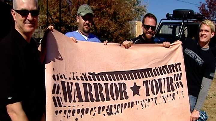 Overland Unlimited's Warrior Tour program connects vets with others having a tough time returning to civilian life.