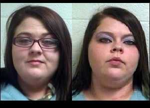 Kayla and Lindsey Bowie: Accused of abusing a 6-year-old
