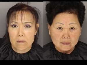Hang Sun Durr and Myong Hui Pries: Charged with prostitution