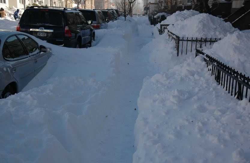 People who are out of shape often end up shoveling, making the sudden intense exercise even harder on the heart.