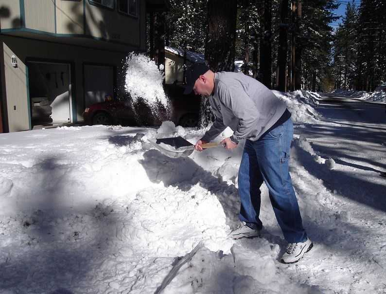 If you have a heart condition, you shouldn't shovel under any circumstances. People older than 50 should also try to avoid it.