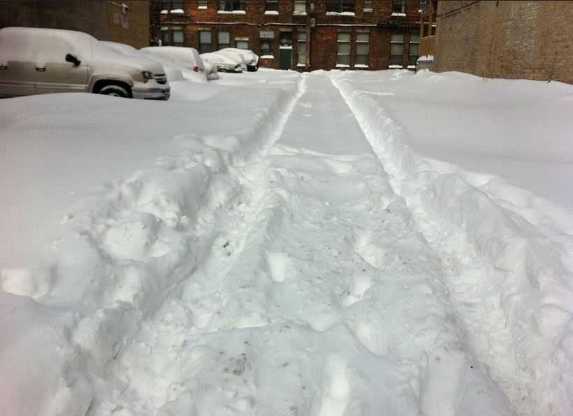 If you will be doing extensive winter driving, invest in snow tires. They greatly reduce the risk of ending up stuck.