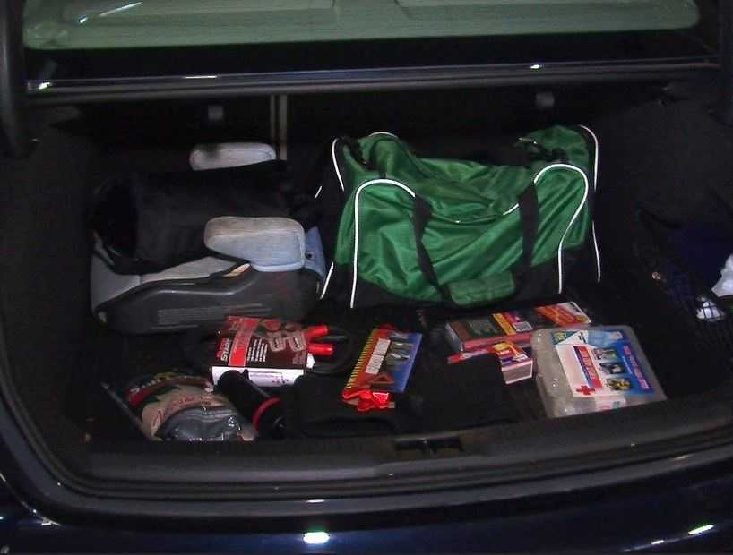 If you will be where winter weather is extreme, put together an emergency kit for your trunk that includes flares, blankets, boots, a radio, non-perishable high-energy snacks, drinking water and a flashlight.