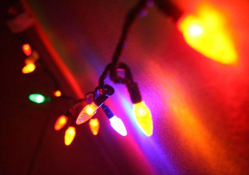 Electrical problems were factors in one-third of home Christmas tree structure fires.