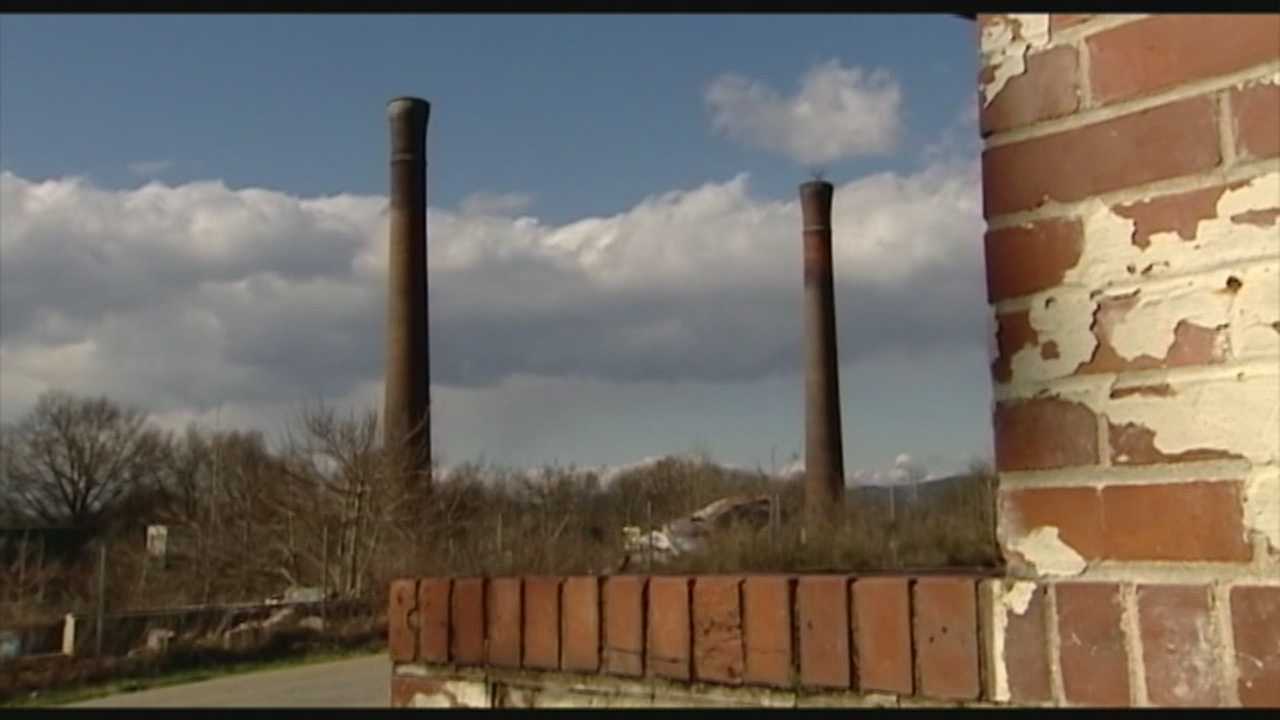 After more than a decade the site of a burned down mill in Greenville County is getting a facelift.