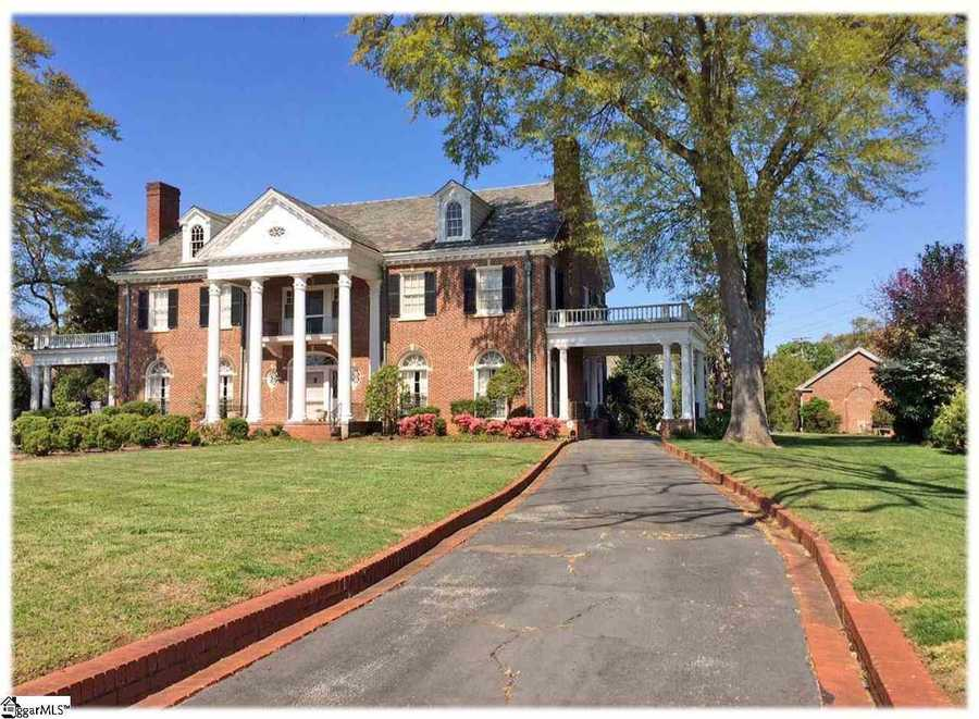 A restored Historic Registry mansion in Greer is for sale on Realtor.com.