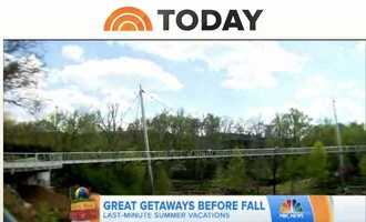 The Today Show- Last Minute Summer Getaways- with more than a minute on live television, Greenville had its moment to shine on the National morning show