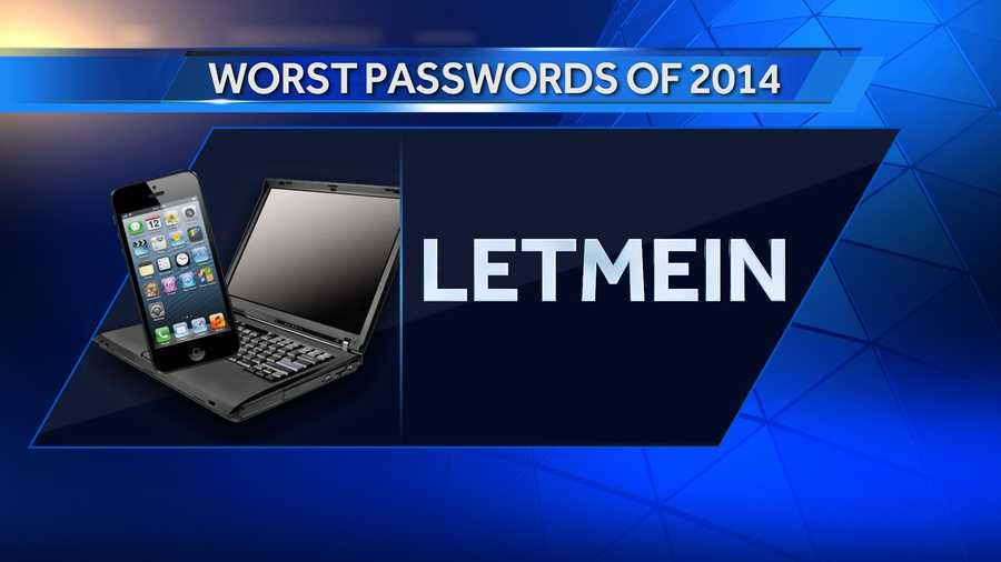 #13: letmein is up 1 on the list