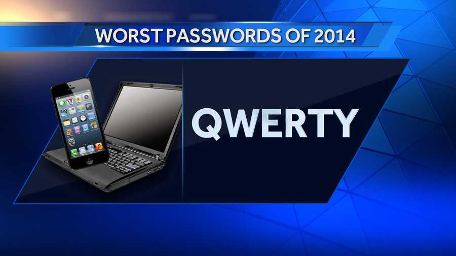 #5: qwerty is down 1 on the list from last year