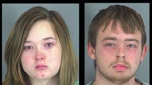 Kelsey Gates, Robert Thompson: Accused of child abuse