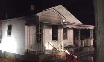 Fire crews in Anderson County responded to a house fire Thursday morning where a deadly shooting happened Monday night.