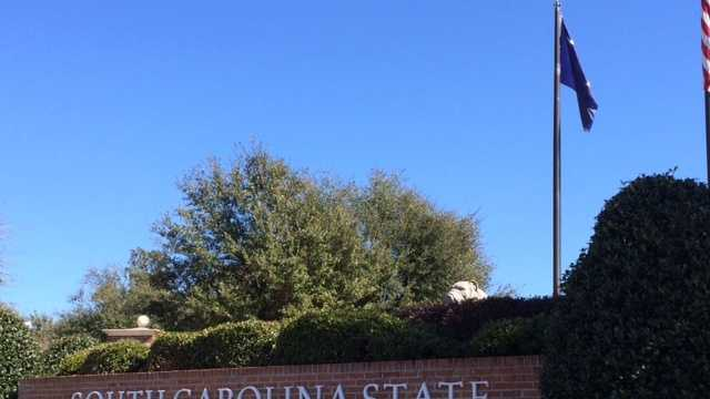 This is the entrance to South Carolina State University